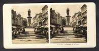 België / Belgique - Luik / Liège ± 1890 - 1905 La Fontaine De La Vierge - Stereoscoop