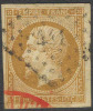 # France   14b, Used, XF+,  SCV$ 25.00   (fr014b-5, Michel 12 - 1853-1860 Napoleon III