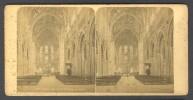 België / Belgique - Luik / Liège ± 1890 - 1905 Interieur De St-Jacques - Stereoscoop