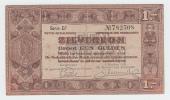 Netherlands 1 Gulden Zilverbon 1938 VF - 1 Gulden
