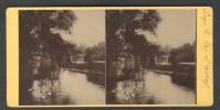 België / Belgique - Luik / Liège ± 1890 - 1905 Le Lac - Stereoscoop