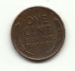 1951 - Stati Uniti 1 Cent D, - 1909-1958: Lincoln, Wheat Ears Reverse