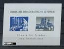 1963, 12. März, Block 18, Zustand: Sehr Gut - [6] Oost-Duitsland
