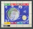 1962, 28. Dez., Kleinbogen, Sowjetische Weltraumflüge,  Zustand: Sehr Gut - [6] Oost-Duitsland