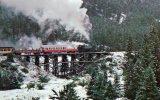 Black Hills Central Railroad On Trestle In South Dakota - Mary Jane's Railroad Spec. Inc. Unused - Trains