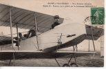 SAINT-CYR-L' ÉCOLE  -  NOS AVIATEUR MILITAIRES  -  BIPLAN H. FARMAN 1912, PILOTÉPAR LE LIEUTENANT BOUSQUET - St. Cyr L'Ecole