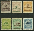 GERMANIA REICH 1923 - Valore In Miliarden - N. 320 / 25 Nuovi ** / *  - Cat. 2.78 € - Lotto N. 2702 - Neufs
