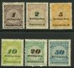 GERMANIA REICH 1923 - Valore In Miliarden - N. 320 / 25 Nuovi ** / *  - Cat. 6.05 € - Lotto N. 2703 - Neufs