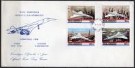 Nouvelles Hébrides - FDC - Concorde - 1978 - FDC