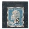 Perforé/perfin/lochung France No 181 BH  Benart Et Honorat   Mero-Boyveau-Beranger - Perforés