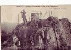 CPA MORTAIN Rocher De L'ermitage - Autres Communes