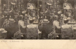 VICHY  LA RESTAURATION CARTE DOUBLE VUE PRECURSEUR - Vichy