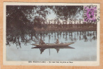 CPA  MELUN   Un Beau Coin De Pêche En Seine  (Mignon 2258 S+B Encadrée) - Melun