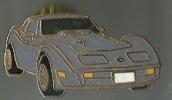 Voiture Grise - Corvette - Corvette