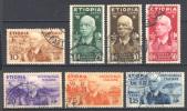 Etiopia 1936 (Sass.1/7) Usati/Used VF/F - Ethiopia