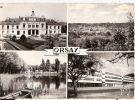 CP Orsay  Multivues Multi Vues Mairie Lycée Corot Coreaux  Lac Essonne - Orsay