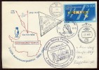 ANTARCTIC Station Novolasarevskaya Base Pole SAE 35 Mail Used Cover USSR RUSSIA Germany Forster - Unclassified