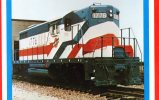 Chicago & North Western Transport. Co. 1776 In Patriotic Colours - Mary Jane's Railroad Spec. Inc. Unused - Trains
