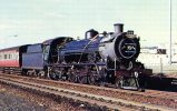 Number 837, A 4-6-2 Pacific, Built 1921, At Port Elizabeth South Africa 1973 - Mary Jane's Railroad Spec. Inc. Unused - Trains