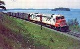 Soo Line Units 700 & 701, Lake Wissota, 1963 - Mary Jane's Railroad Spec. Inc. Unused - Trains