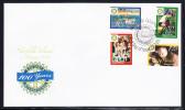 Norfolk Island Scott #836-839 FDC Set Of 4 Rotary International 100 Years - Ile Norfolk