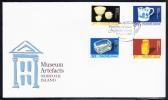 Norfolk Island Scott #841-844 FDC Set Of 4 Museum Artefacts - Ile Norfolk