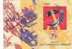 T34- Tessera Partito Rifondazione Comunista 1993 - Organisations