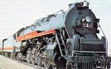 American Freedom Train Locomotive 'The America' No 2101 Built 1946 - Mary Jane's Railroad Spec. Inc. Unused - Trains