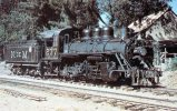 Ferrocarriles Nacionales De Mexico No 277, Built 1921 Viewed At Ozumba, 1963 - Mary Jane's Railroad Spec. Inc. Unused - Trains