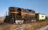 Minnesota Valley Transportation Co No 281 Viewed 1985 In Indiana Harbor- Mary Jane's Railroad Spec. Inc. Unused - Trains