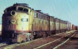 A Chicago, Rock Island & Pacific Railroad Freight Train, Illinois, 1972- Mary Jane's Railroad Spec. Inc. Unused - Trains