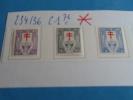 BELGIQUE   234   à   236 = Neufs  AVEC  Charnière = Antituberculeux   =   15 Décembre  1925 - Malattie
