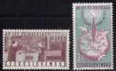 Tchécoslovaquie 1963 N°Y.T. ;  1279 Et 1280** - Tchécoslovaquie