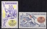 Tchécoslovaquie 1964 N°Y.T. ;  1318 Et 1319** - Tchécoslovaquie