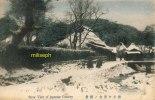 JAPON - Snow View Of Japonese Country - Vue Enneigée Du Japon -     (1407) - Japan