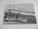 Treno Tranvia Torino Rivoli Strada Pozzo Anno 1955 Nel Trentennale Consorzio Trasporti Torino - Strassenbahnen