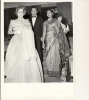 Foto  - Ciné Cinema Star  Film Venice Italy Festival - Maria Mercader - Designer Zuffi - Sonali Das Gupta 1959 - Foto