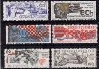 Tchécoslovaquie 1968 N°Y.T. ;  1707 à 1712** - Tchécoslovaquie