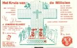 Kalender Klein Formaat 1979 - Simoens Asse - Kruis Milicien - Calendriers