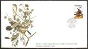 Mkt014b FAUNA ROOFVOGELS AUDUBON VALK FALCON BIRDS OF PREY GREIFVÖGEL AVES OISEAUX VANUATU 1985 FLEETWOOD FDC 81718* - Eagles & Birds Of Prey