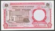 NIGERIA  : 1 Pound - 1967 - P8 - UNC - Nigeria