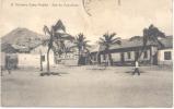 SAO VICENTE CABO VERDE RUA DO COQUEIROS ANIMEE Sold As Is RARISIME CPA - Kaapverdische Eilanden