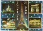 Paris  - Paris La Nuit, Sacre Coeur, Moulin Rouge, Tour Eiffel, Opera - Paris By Night