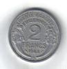 66 - FRANCIA , 2 Francs Del 1945 . Morlon - Francia