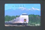 JAPAN  -  Magnetic Phonecard/Train As Scan - Trains