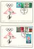 FDC - Olympische Spelen Mexico Zeels 1456-1460 - FDC