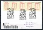 ÖSTERREICH Mi.Nr. 5 ATM ÖVEBRIA 2001 -FDC - FDC