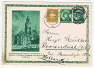 Deutsche Reich: Postkarte  1933 Mit Zusatzfrankatur Nach Roosendaal  Holland - Interi Postali