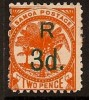 SAMOA 1898-1900 OVERPRINT SC # 30 MH - Samoa (Staat)