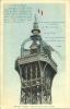 ND 523 PARIS - Sommet De La Tour Eiffel Avec Vignette Paris Tour Eiffel Au Verso - Tour Eiffel